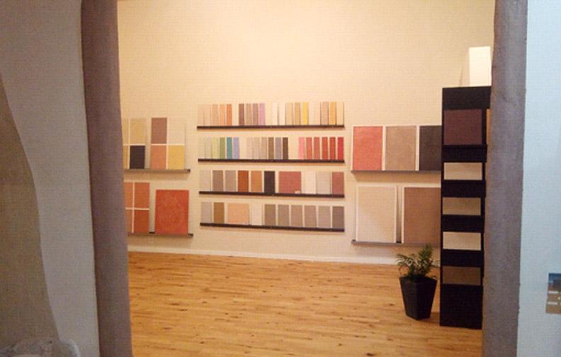 Natürliche Wandbeschichtung - unsere Ausstellung in Cölbe